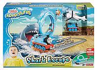 Железная дорога с паровозиком Томасом «Побег от акулы», фото 1