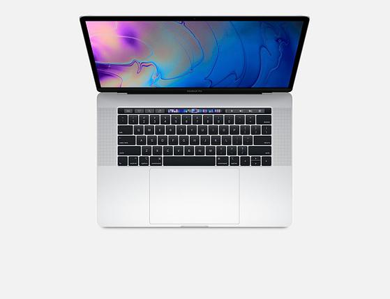 Apple MacBook Pro 15 256Gb Touch Bar Mid 2018 Silver, фото 2
