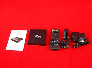 Приставка Android Smart TV Box X96