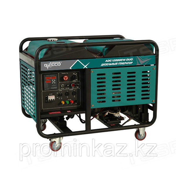 Дизельный генератор ALTECO ADG 12000 EW DUO 12 кВт, 380/220В