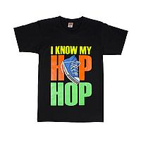 Футболка I KNOW MY HIP HOP , фото 1
