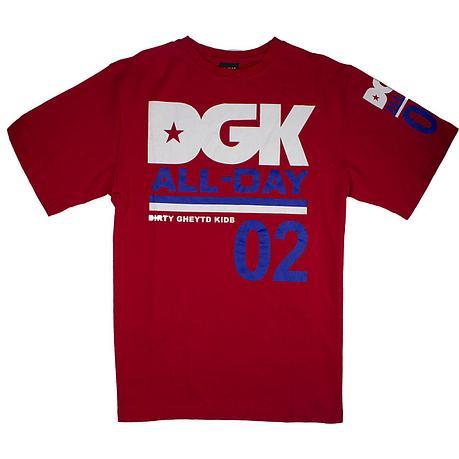 Футболка DGK красная, фото 2