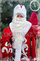 Костюм Деда Мороза и Снегурочки Снежные(snowy)| Завьюженные. Красный XXL