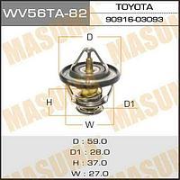Термостат MASUMA WV56TA-82 Термостат WV56TA-82 Toyta HILUX\Fortuner 2004- 2.7