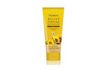 Deoproce Body Scrub Wash Yellow/скраб для тела с маслом семян подсолнуха