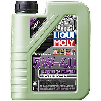 Моторное масло Liqui Moly Molygen New Generation 5W40 1L
