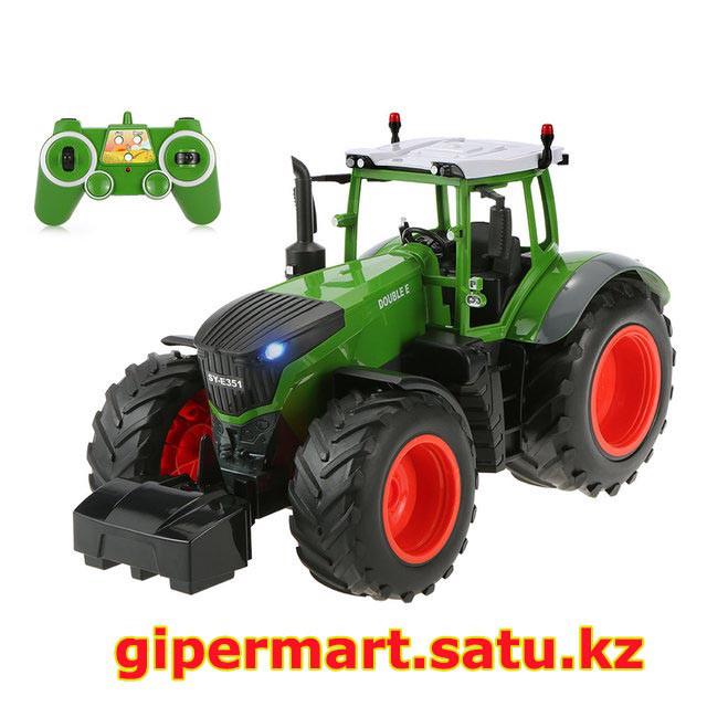 Радиоуправляемый сельскохозяйственный трактор с прицепом RC Car Double Eagle масштаб 1:16 - E354-003