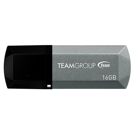 Team Group USB 2.0 Flash C153 FLASH DRIVE 16GB TC15316GS01 SILVER , фото 2