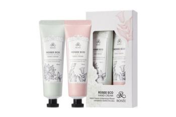 Rosee eco hand cream (set) / Набор кремов для рук с белым мускусом и лилией