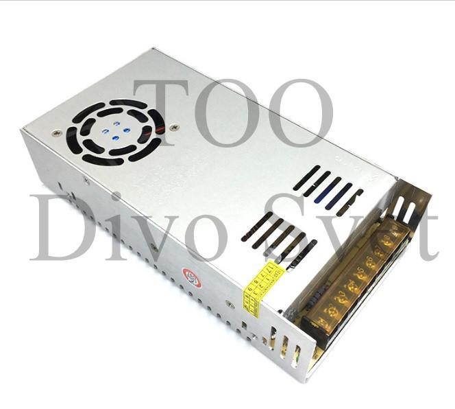 Блок питания 12V 40A 480W, открытый. Трансформатор 220В-12В, 480 Ватт. Power supply 12v, блоки питания.