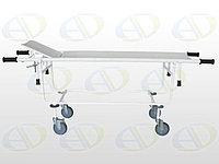 Тележка для перевозки  больных со съемной панелью ТБС-01  с подголовником колёса  150 мм, 200мм