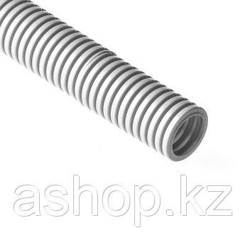 Труба гофрированная электротехническая Рувинил 12501, Диаметр: 25мм, Длина: 50 м, Материал: ПВХ (Поливинилхлор