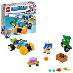 Lego Unikitty Велосипед принца Паппикорна