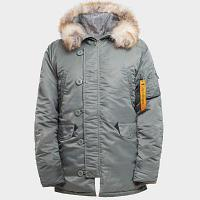Куртка мужская HUSKY OLIVE\ORANGE