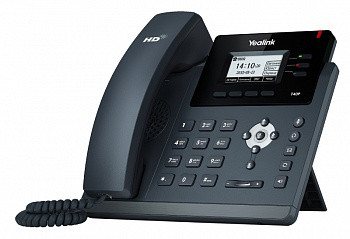 IP телефон Yealink SIP-T40P, SIP 3 аккаунта, BLF, PoE, без БП