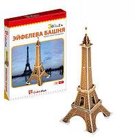 3D Puzzle LingLeSi Eiffel Tower, 20pcs Пазл Эйфелева башня, 20 деталей, фото 1