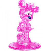3D Crystal Puzzle Minnie Mouse, 44pcs Пазл Минни Маус, 44 детали