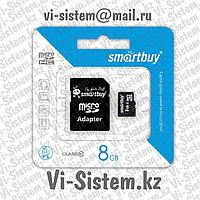 Флеш Накопитель MicroSD 8GB 10 Class (Карта памяти МикроСД 8Гб 10 Класс)