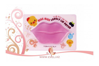TONY MOLY Kiss Kiss Lovely Lip Patch / Гидрогелевый патч для губ