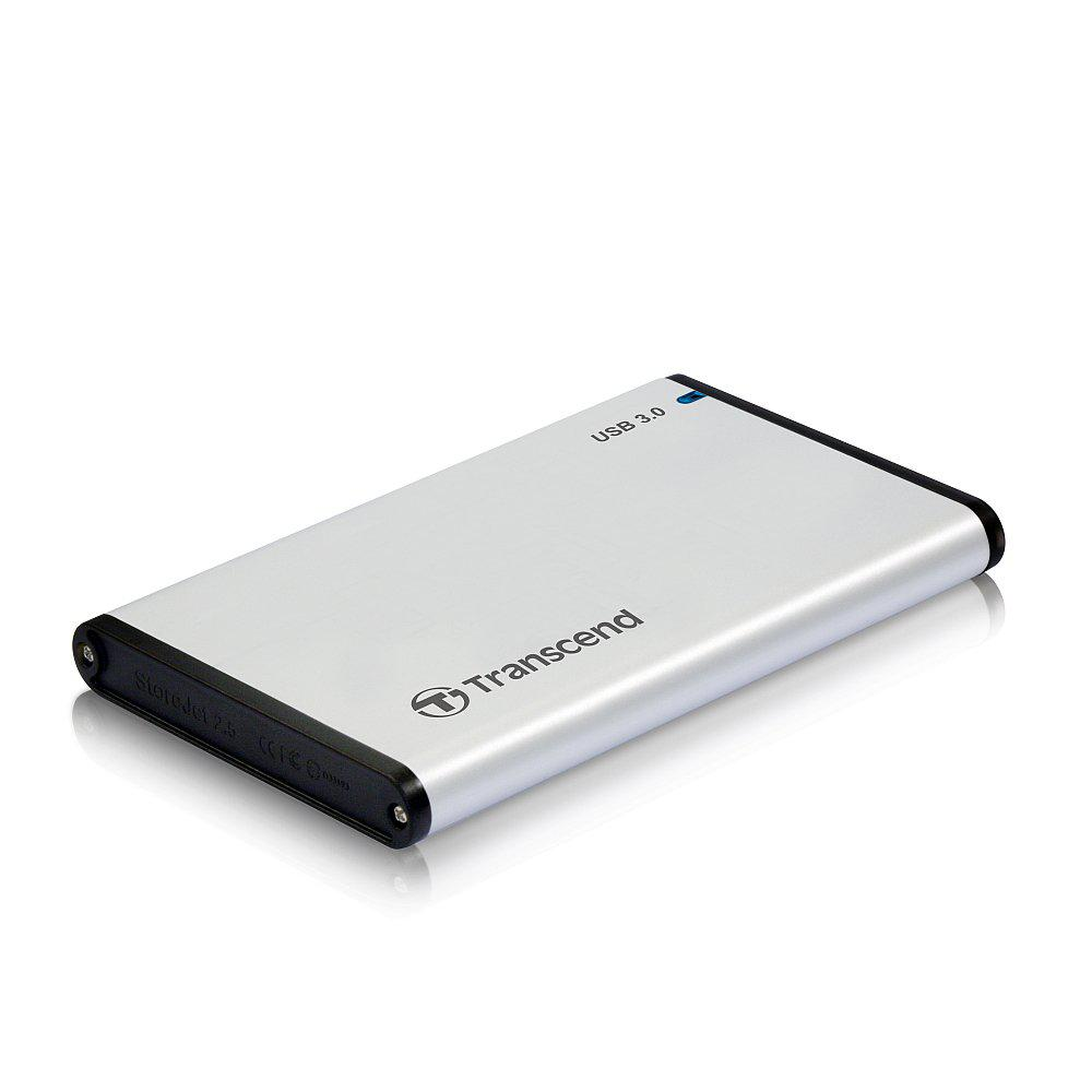 Transcend TS0GSJ25S3, 2.5'' 0GB StoreJet S3, AL housing