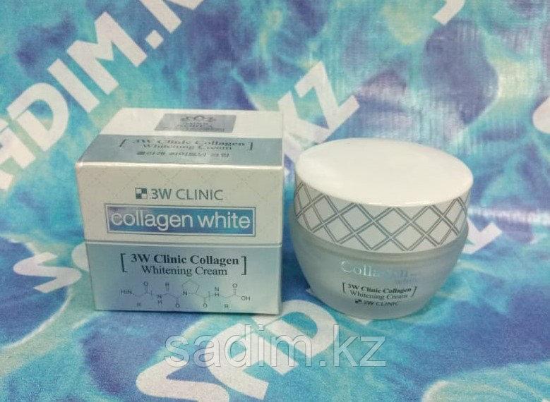 Enough collagen whitening cream - Крем от морщин 3 w clinic