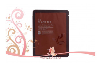 Тканевая маска TONY MOLY THE BLACK TEA NUTRITION & MOISTURE MASK SHEET