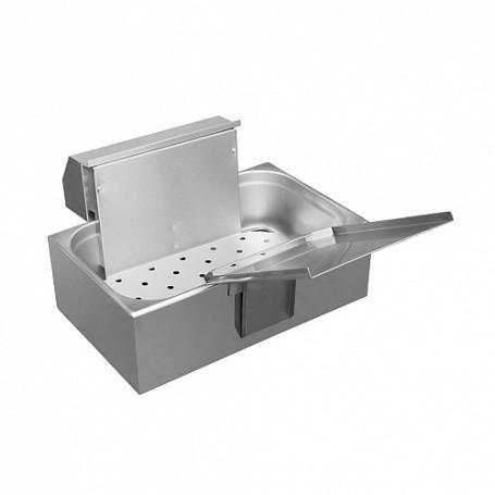 Аппарат для жарки чебуреков и пирожков АЖЧП-1 настольный (830х470х300 мм, 7л, 3 кВт, 220В)