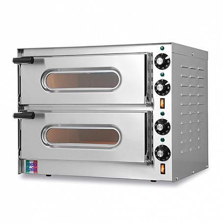 Печь для пиццы электрическая Resto Italia SMALL/G2 (550х450х435 мм, 3,2кВт, диаметр пиццы 33см, 2 секции)