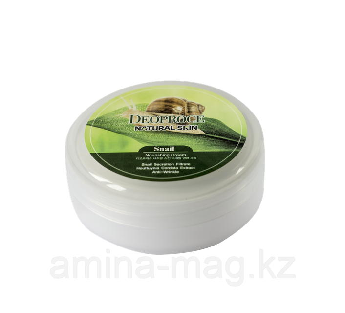Deoproce Natural Skin Snail Nourishing Cream