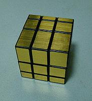 Кубик Зеркальный золотой от Шенгшоу, фото 1