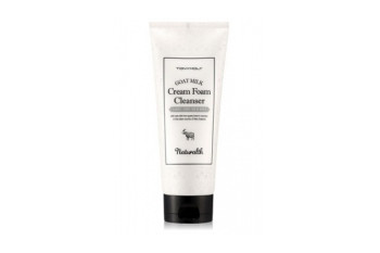 Tony Moly Goat Milk Cream Foam Cleanser