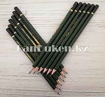 Простые карандаши 12 штук в упаковке (2B)