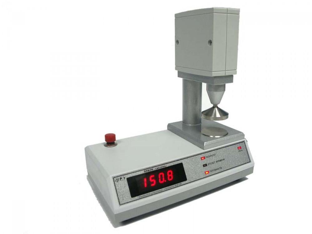 Прибор для измерения деформации клейковины ИДК-3М