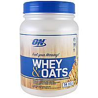 Протеин Изолят Optimum Nutrition Whey & OATS (700 гр)