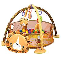 Развивающий коврик FunKids Lion Gym