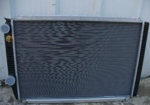 """Радиатор охлаждения 3302 алюм """"Бизнес"""" 2-х ряд алюм Ремофф"""