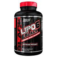 Жиросжигатель Nutrex Research Lipo-6 Black 120 капсул