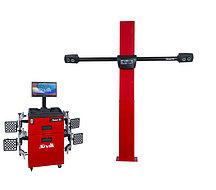 Стенд для измерения и регулировки углов установки колес автомобилей Зенит-3D КС-504