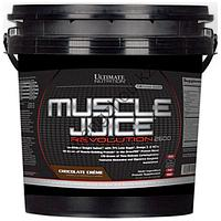 Гейнер Ultimate Nutrition Muscle Juice 2600 Revolution (5.04кг) шоколад