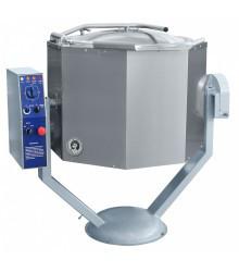 Котел пищеварочный КПЭМ-100-ОМР, нижний привод миксера