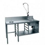 Стол предмоечный СПМП-6-5 (1500*671) для посудомоечной машины МПК-700К