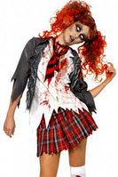"""Костюм на хеллоуин """"зомби школьница"""""""