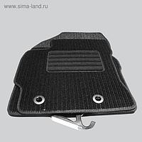 "Коврики в салон для Honda Accord универсал V 2008-2013, 4 шт., текстиль ""Robust-Lux"", черный   25593"