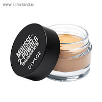 Тональная основа Divage FOUNDATION IN A JAR, в банке, mousse-to-powder № 02