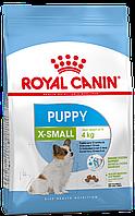 Сухой корм для щенков мелких пород от 2-х до 10 месяцев Royal Canin X-Small Puppy