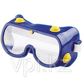 Очки защитные закрытого типа с непрямой вентиляцией, поликарбонат, Сибртех