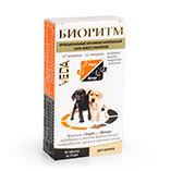 Биоритм Функциональный витаминно-минеральный корм нового поколения для щенков, 48 таблеток.