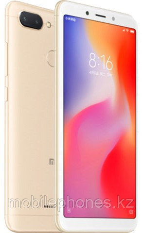 Xiaomi Redmi 6 32Gb Золотой