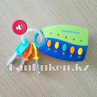 Интерактивная детская музыкальная игрушка брелок с ключами для машины K999 (80B)