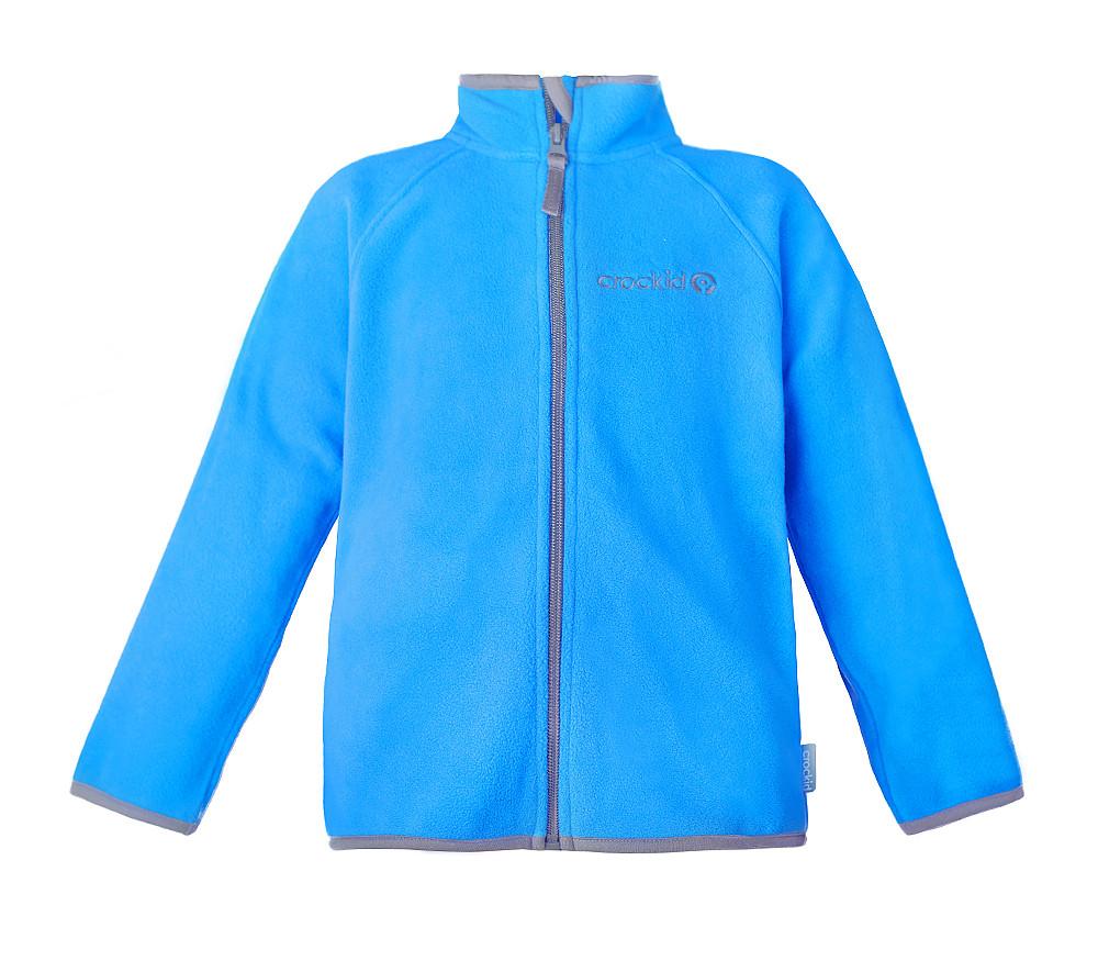 Флисовая кофта детская Crockid светло-голубая